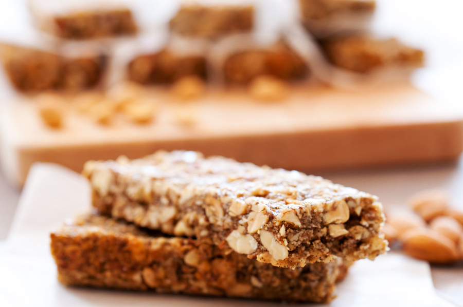 Crunchy Peanuts, Almonds, and Oats Bars-11