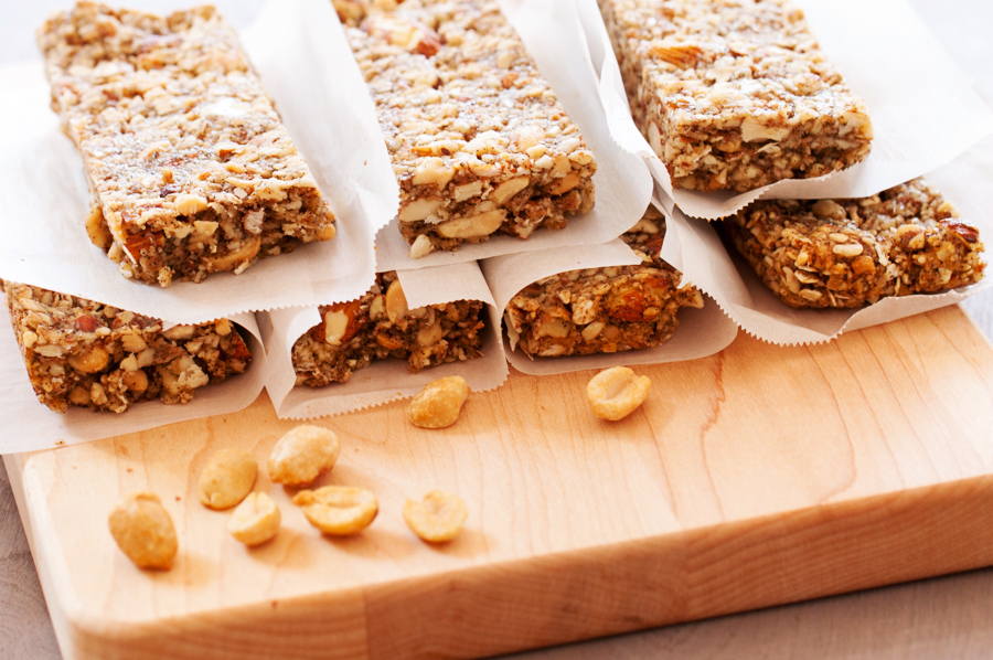 Crunchy Peanuts, Almonds, and Oats Bars-13