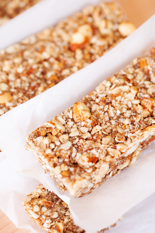 Crunchy Peanuts, Almonds, and Oats Bars-16