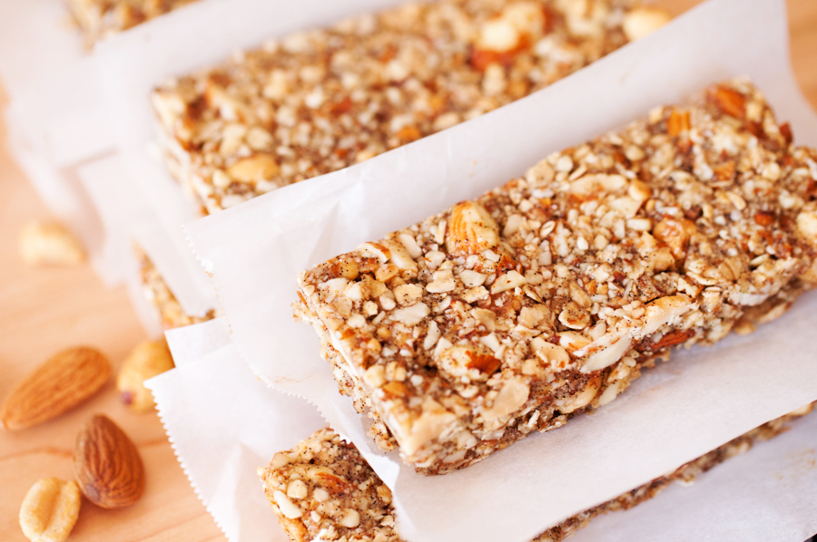 Crunchy Peanuts, Almonds, and Oats Bars-18