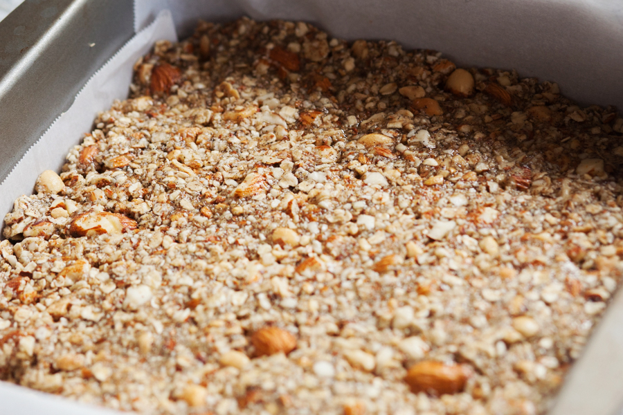 Crunchy Peanuts, Almonds, and Oats Bars-5