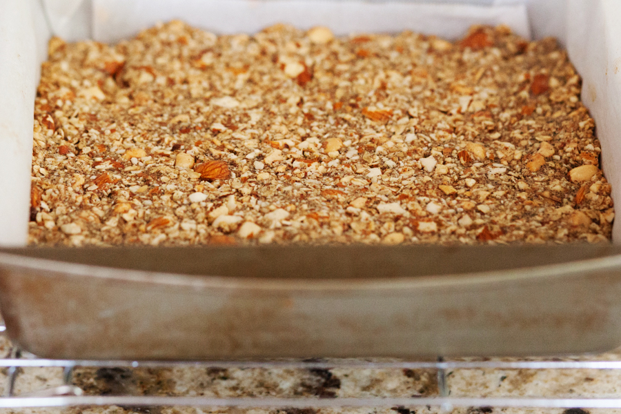 Crunchy Peanuts, Almonds, and Oats Bars-6