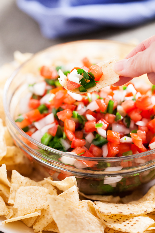 With a few simple ingredients, you can enjoy homemade Pico de Gallo in no time!