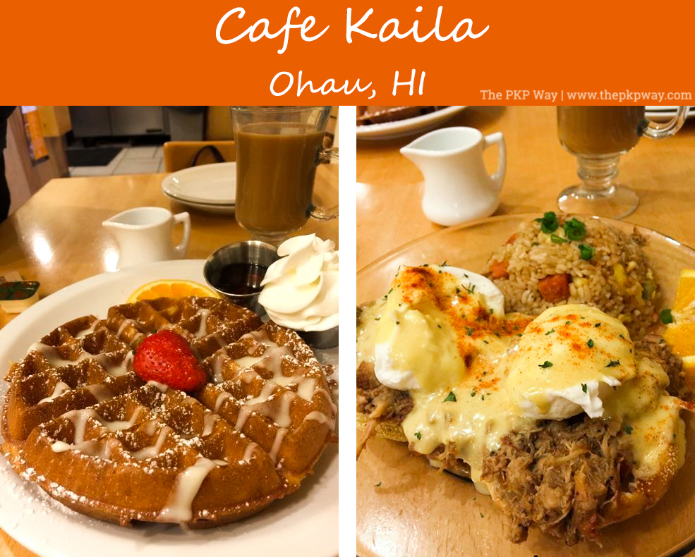 Oahu, Hawaii, Cafe Kaila, Waffles, Honolulu
