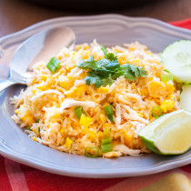Crab Fried Rice from Siam Sunset Restaurant