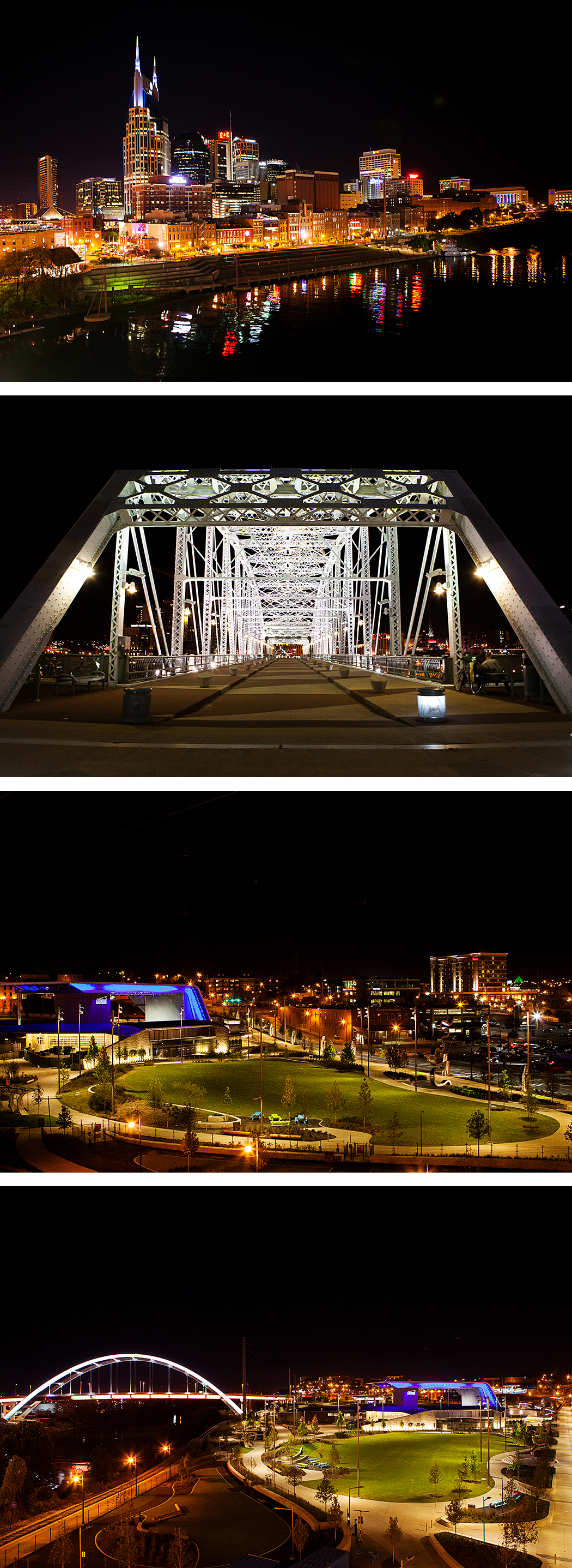 The John Seigenthaler Pedestrian Bridge | Nashville, Tennessee