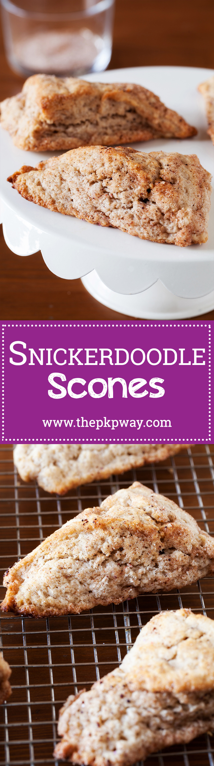 Snickerdoodle Scones - A Year Round Treat for Snickerdoodle Lovers!