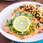 Baked Lemon and Herb Salmon {VIDEO}