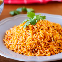 Restaurant Style Mexican Rice. Why settle for just a scoop as a side when you can make an entire pot of Mexican rice at home?