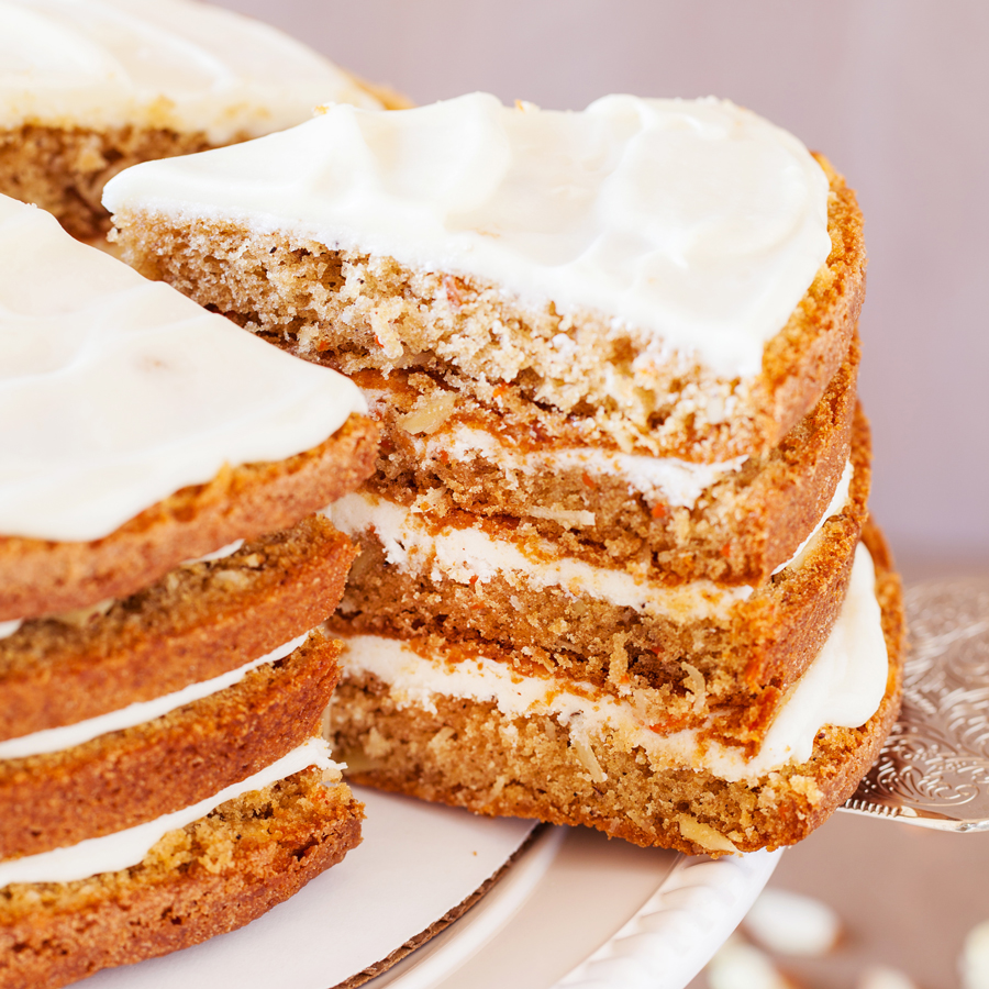 Carrot Cake With Almonds Instead Of Walnuts