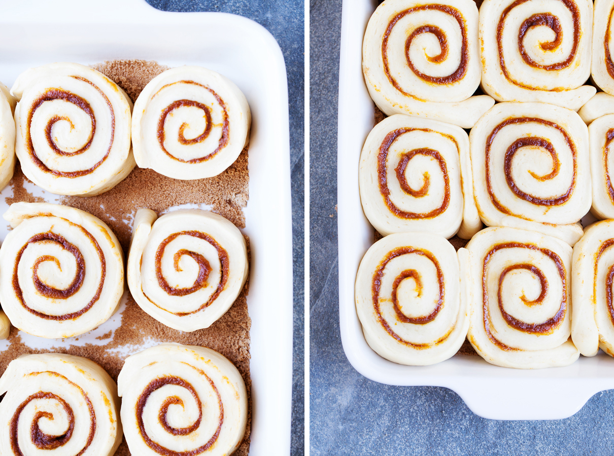 Pumpkin Cinnamon Rolls - The only pumpkin dessert you need to make this season.