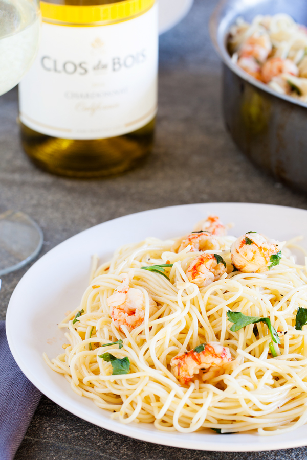 Tossed in a light wine sauce and sprinkled with succulent langostino tail, this Angel Hair with Langostino Tail Sauce makes a festive addition to any holiday table.