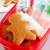 Gingerbread Men Cookie Decorating Kits make cute packages that anyone will be thrilled to receive!