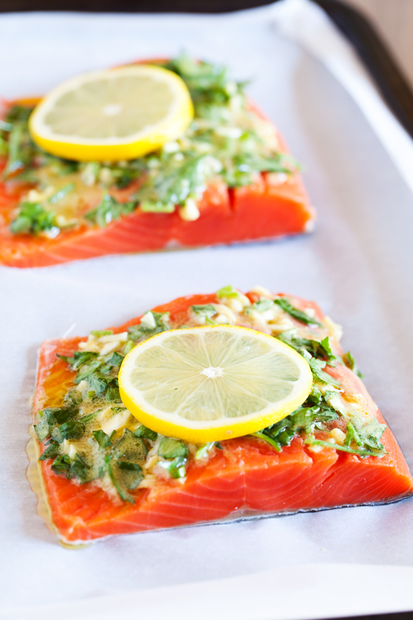 Lemon herb salmon recipes