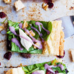 Chicken Waldorf Salad Tart