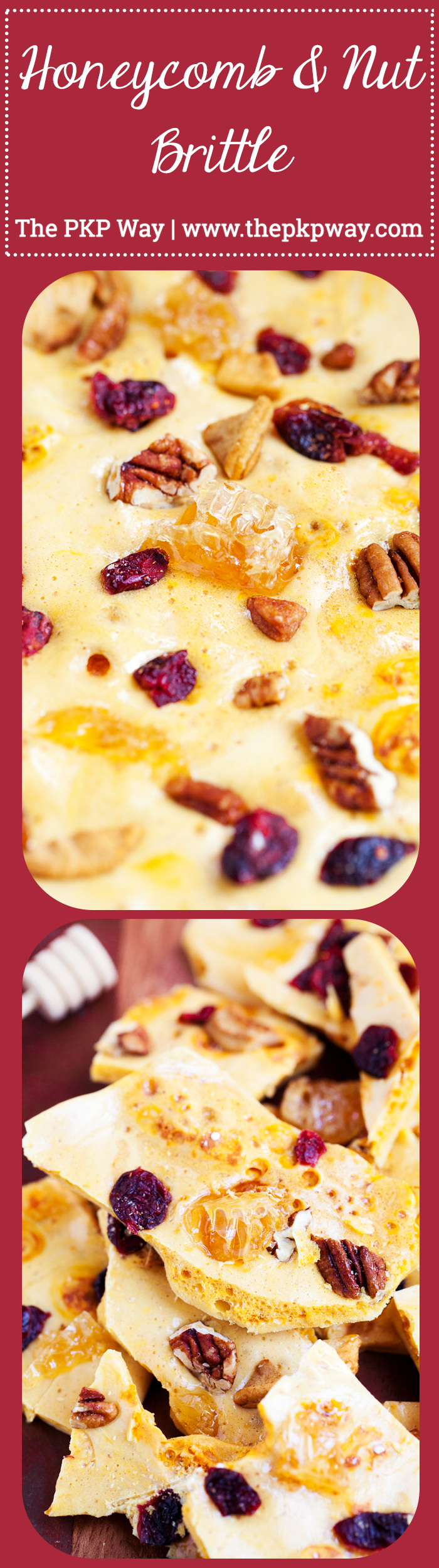 Images Of Candy Loving Simple honeycomb and nut brittle | the pkp way