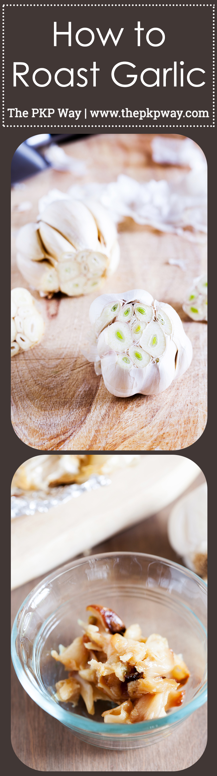 Learn How to Roast Garlic with step-by-step photos and set your ...