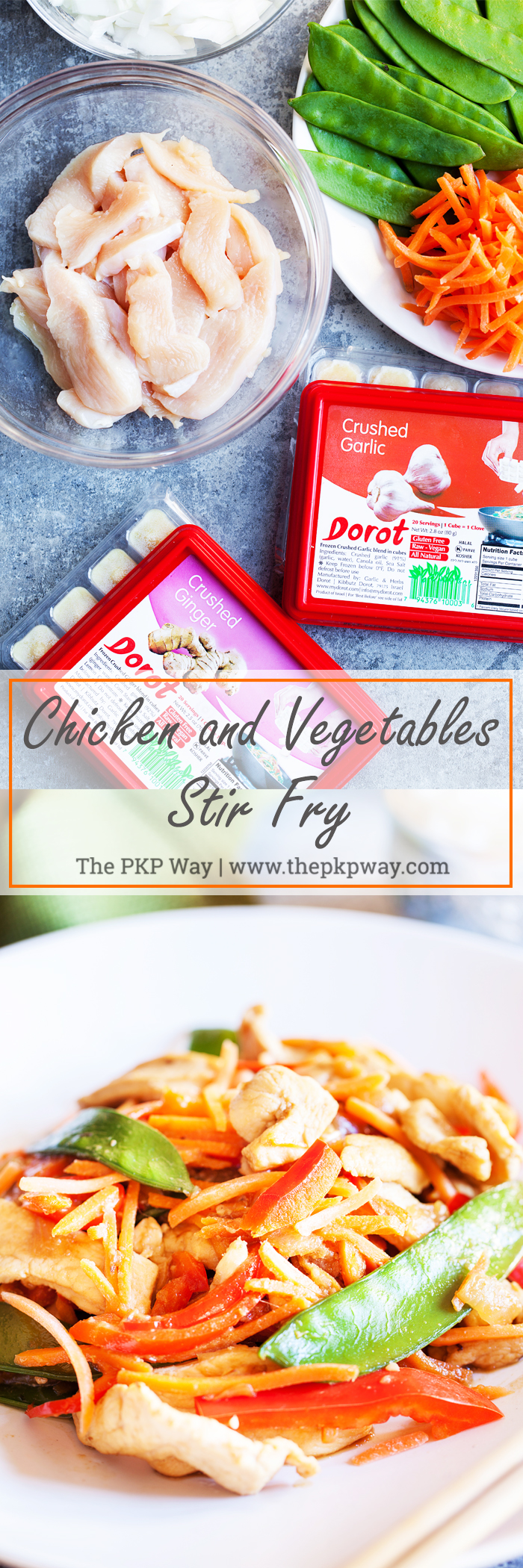 Colorful, delicious, and healthy, Chicken and Vegetables Stir Fry can be thrown together quickly with little to no effort.