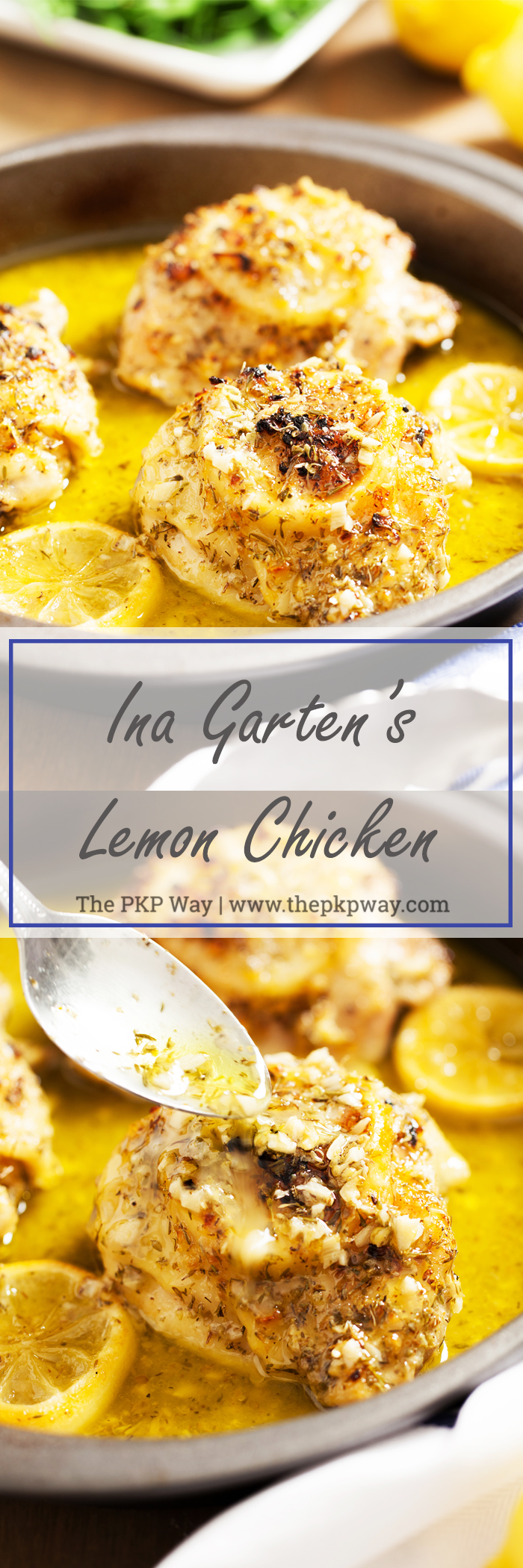 From the Barefoot Contessa herself, Ina Garten's Lemon Chicken is juicy, flavorful, and oh so easy!