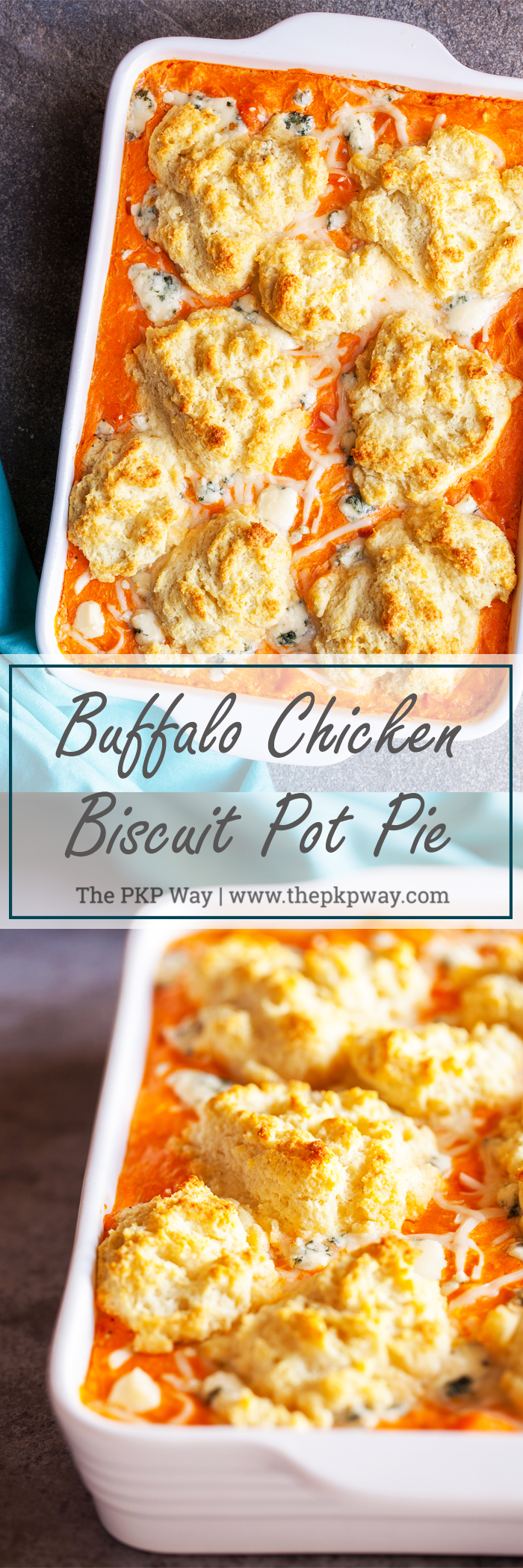 Buffalo Chicken Biscuit Pot Pie All The Deliciousness Of Chicken Pot Pie Buffalo Wings