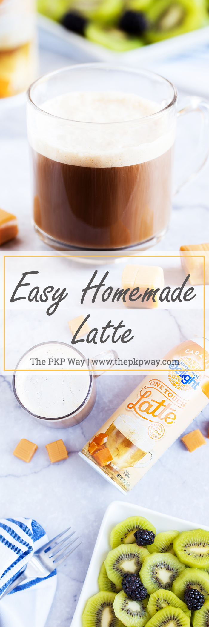 Skip the lines and learn how to make Easy Homemade Latte right in your own kitchen.