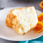 Orange Angel Food Cake