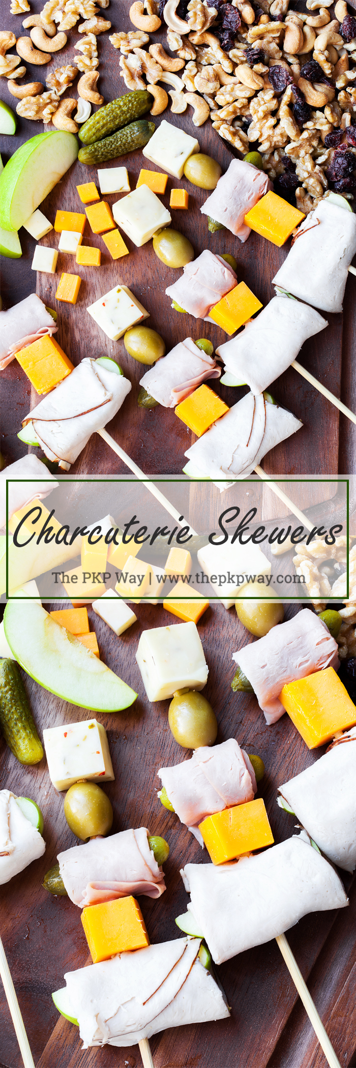 Easily entertain with these completely customizable and delicious Charcuterie Skewers.