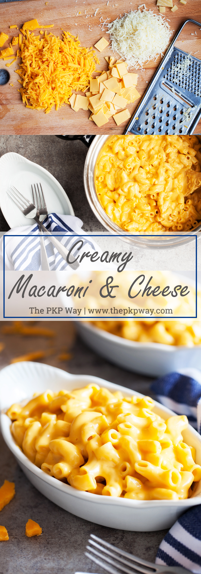With some unexpected ingredients, you too can make deliciously tangy, ultra-smooth and­­ Creamy Macaroni and Cheese.