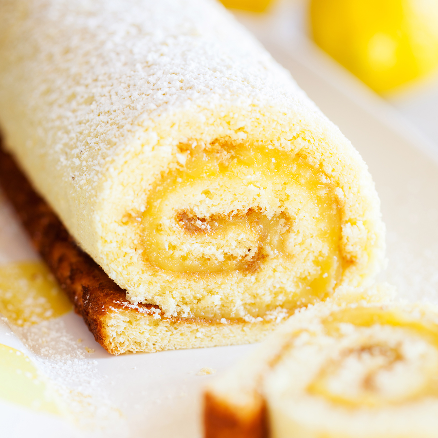 Angel Food Cake Roll Up Recipe