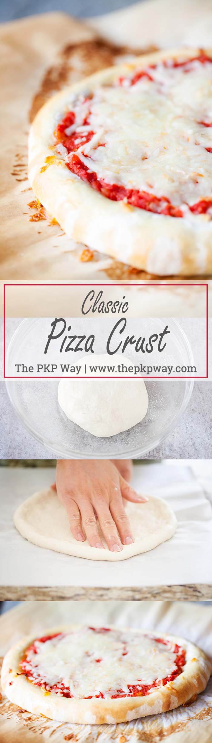 Versatile and easy to handle, this dough produces the perfect Classic Pizza Crust that's crispy on the outside and tender on the inside.