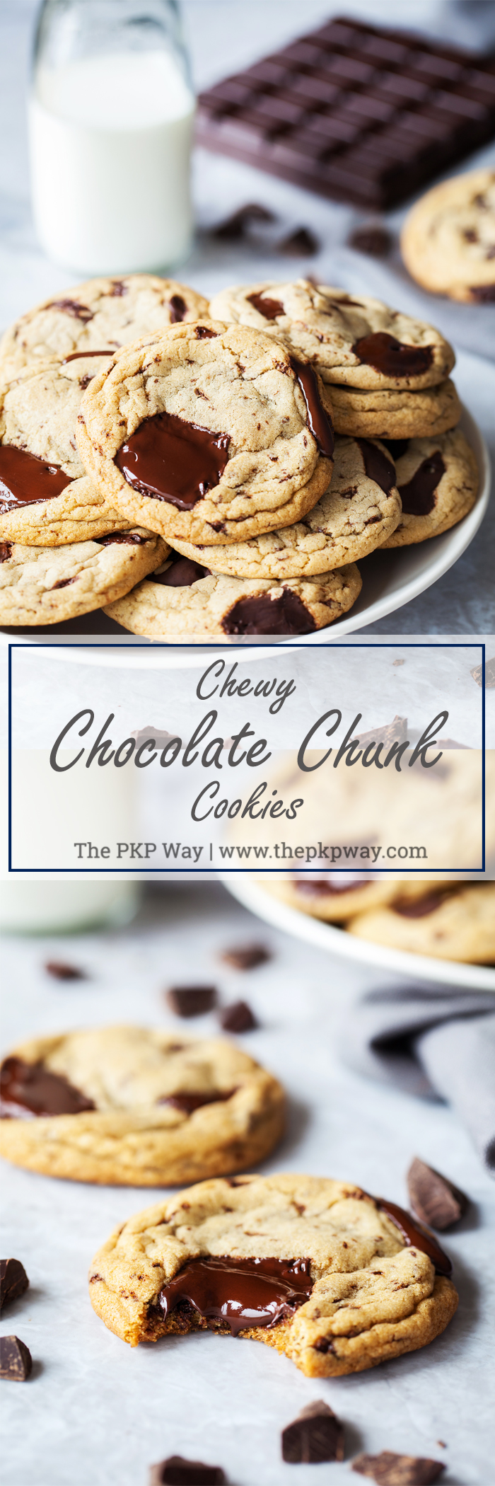 Chewy Chocolate Chunk Cookies | The PKP Way