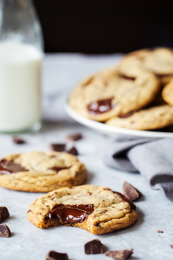 With a tender crumb and puddles of chocolate, these Chewy Chocolate Chunk Cookies will become your go-to recipe!