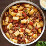 This from-scratch, quick, and easy Italian Sausage Tomato Pasta Sauce will become your go-to meat sauce.