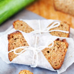 Moist, easy, and delicious Zucchini Bread suitable for both gluten-tolerant and gluten-free diets.