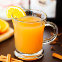 Slow Cooker Mulled Cider will quench your thirst all holiday season long while naturally scenting your home with delicious holiday aromas.