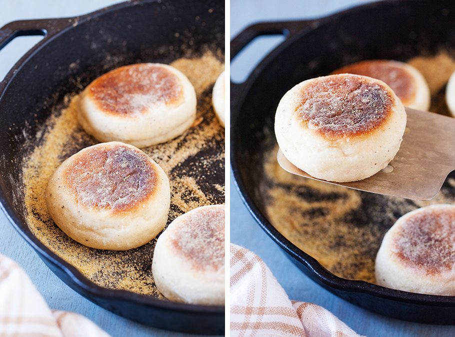 English muffin recipe with sourdough starter
