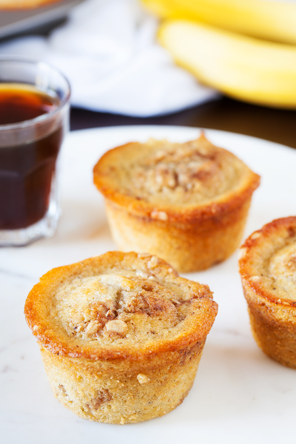 Banana Coffee Cake Muffins