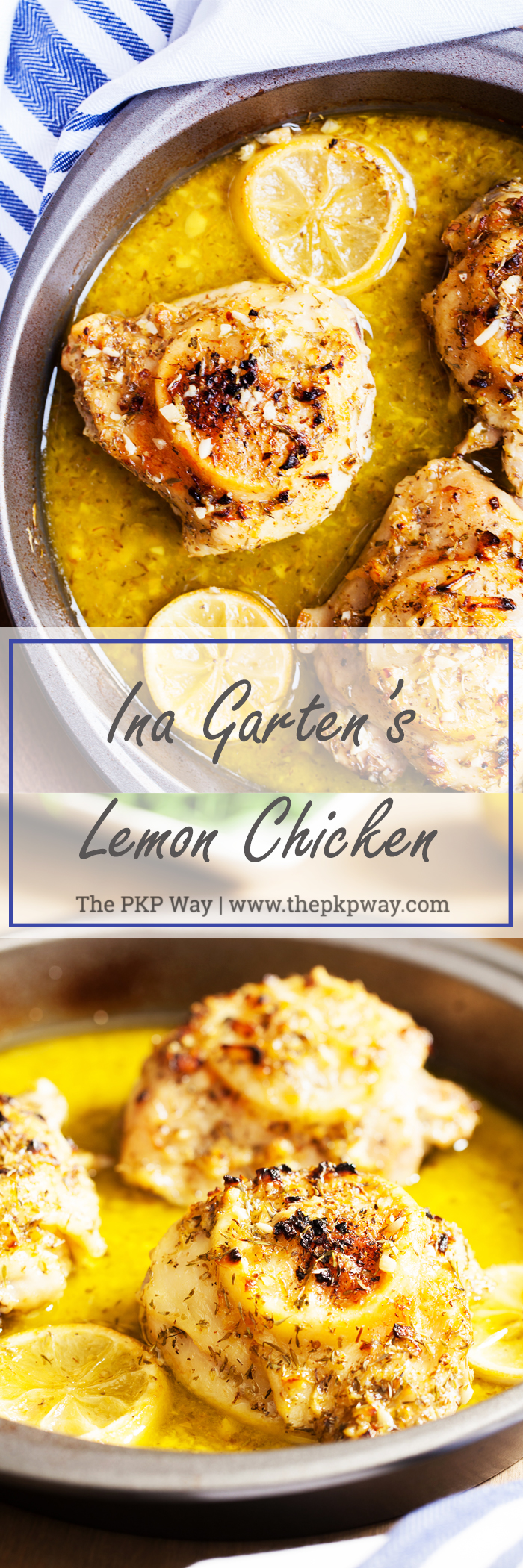 Barefoot Contessa Lemon Garlic Chicken