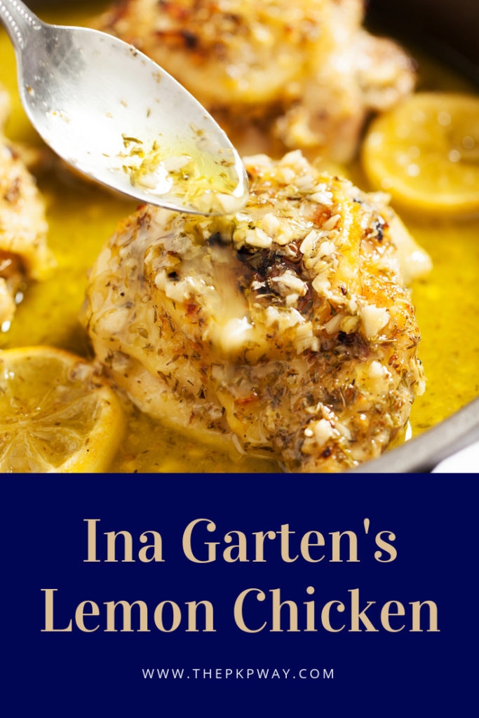 Ina Garten's Lemon Chicken
