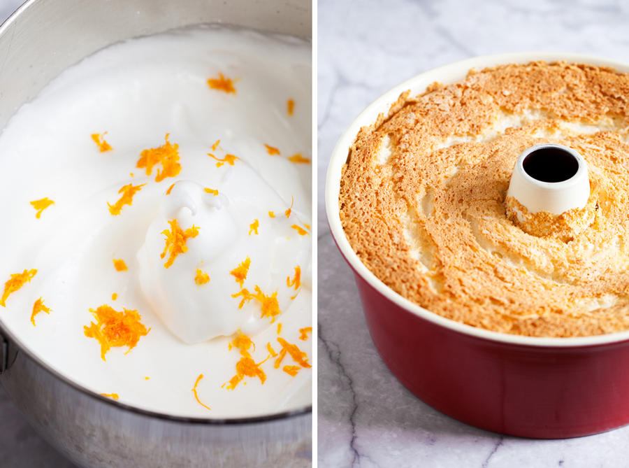 Orange angel food cake the pkp way light moist fluffy and airy orange angel food cake offers zero guilt forumfinder Gallery