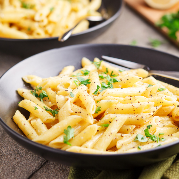 One Pot Pasta With Lemon Garlic Butter Sauce The Pkp Way